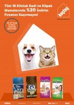 Koçtaş'tan kedi ve köpek mamalarında indirim kampanyası