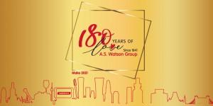 A.S. Watson Group 180 Yıllık AŞKINI ve Değişimini Kutluyor