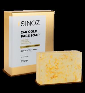 24 ayar altın parçacıklı sabun ile lüks bakım keyfi