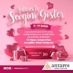 Ankara'nın Alışveriş ve Yaşam Yıldızı Antares'le sevgini göster