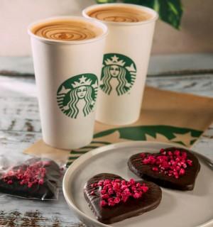 Starbucks Sevgililer Günü'nü özel lezzetleri ile kutluyor