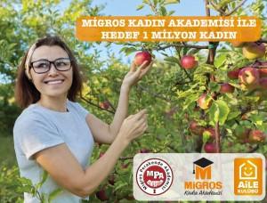 Migros Kadın Akademisi ile hedef 1 milyon kadına ulaşabilmek