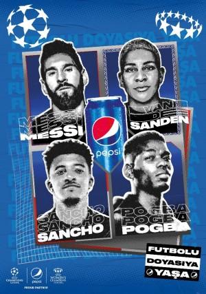 Pepsi yeni UEFA Şampiyonlar Ligi kampanyasını başlattı