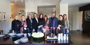 Ressam, Girişimci İş kadını Dr.Müge Uğurlu dermokozmetik ürünlerin üretimi için yatırıma karar verişinin 1. yılını kutladı