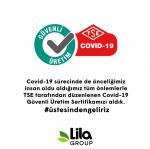 Lila Group Üretim Tesisi  TSE Covid-19 Güvenli Üretim Belgesi Aldı