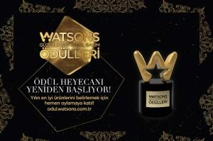 7. Watsons Güzellik ve Kişisel Bakım Ödülleri için Oylamalar Başladı