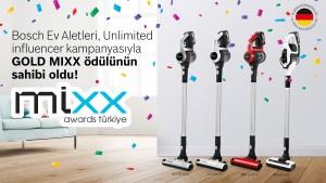 Bosch Ev Aletleri, Altın MIXX'in sahibi oldu