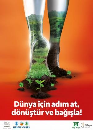 Nestlé, Dünya Günü'nde gezegen için harekete geçmeye çağırıyor