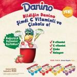 Danino küpler C vitamini ve çinko ile güçlendi