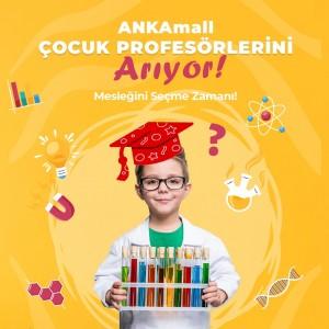 ANKAmall AVM'den çocuklara özel meslek deneyim platformu