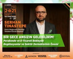 Serhan Tınastepe 2-3 Haziran Perakende Günleri'nde