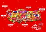 Kent, pandemi koşullarında 11.000 ton bayram şekeri üreterek evlerimize konuk oluyor