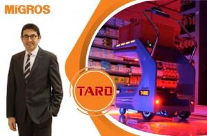 Migros'tan Dünyada Bir İlk: Robot Taro