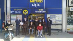 Metro Türkiye Konya Mağazası'nda engelsiz alışveriş deneyimi resmen tescillendi
