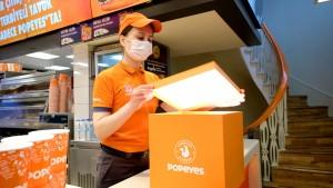 Popeyes The Chicken Sandwich şimdi İstanbul'da