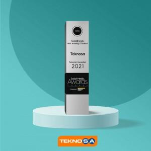 Teknosa, Social Media Awards Turkey 2021'de altın ödül sahibi