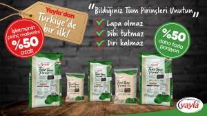 Yayla'dan lezzeti katlayan  cepleri hafifleten mucize pirinç