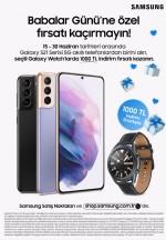 Samsung'dan Babalar Günü'ne özel kampanya