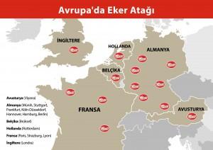 Eker, Avrupa'ya sütlü tatlı ihracatı yapan ilk marka oldu