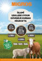Etin uzmanı Migros'tan  kurbanda ekstra hijyen uygulamaları