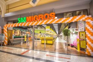Konya'nın ilk 5M Migros mağazası M1Konya AVM'de