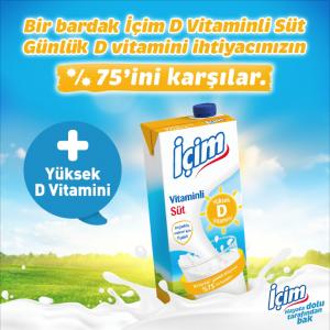 İçim D Vitaminli Süt'ü tüketicilerle buluşturdu