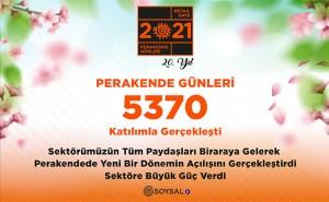 Perakende Günleri 5370 katılımla gerçekleşti