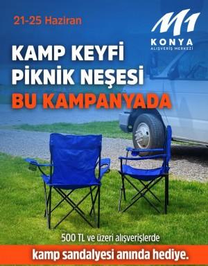 M1Konya AVM'den sosyalleşmeye katkıda bulunacak kampanya