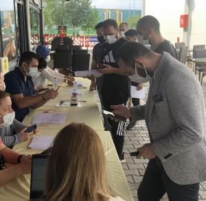 Outlet Center İzmit çalışanları  Covid-19 aşısını oldu