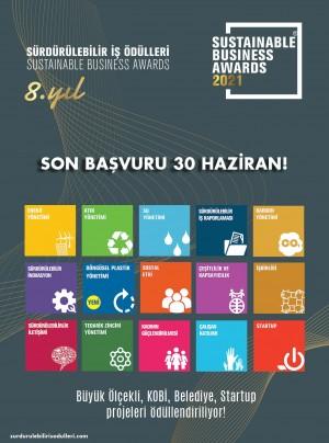 Sürdürülebilir İş Ödülleri 2021 için başvuru süresi 30 Haziran'a kadar uzatıldı
