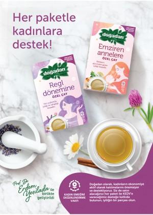 Doğadan'dan kadınlara özel çay serisi