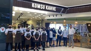 Ege'li Komşu Kahve, Anadolu'nun kalbini fethetmeye geliyor
