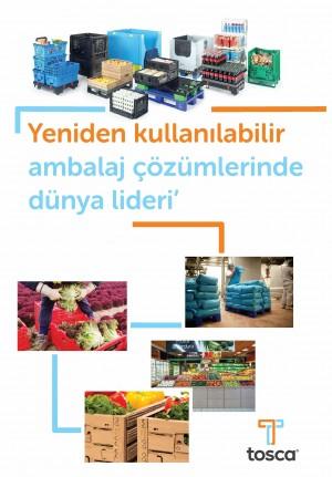 Yeniden kullanılabilir ambalaj çözümleri sunan TOSCA artık Türkiye' de