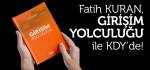 """Fatih Kuran'ın """"Girişim Yolculuğu"""" kitabı raflardaki yerini aldı"""