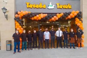 Tavada Tavuk, Cizre Park Alışveriş ve Yaşam Merkezi'nde açıldı