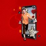 Sınırsız Tiktok Türkiye'de ilk kez ve sadece Vodafone'da