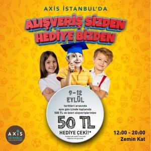 Axis İstanbul AVM'den alışverişte kazandıran kampanya
