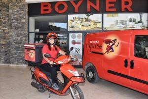 Boyner Express Bodrum 3 saat teslimat hedefiyle yola çıktı