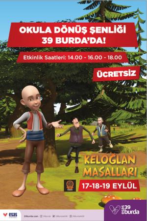 39 Burda AVM'de ücretsiz çocuk etkinlikleri başlıyor