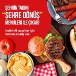 """Yemeksepeti'nden leziz """"Şehre Dönüş"""" kampanyası"""