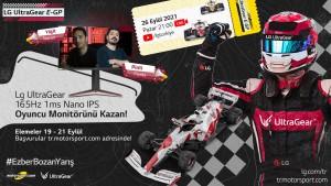 """LG Türkiye ile ezber bozan yarış heyecanı """"LG UltraGear E-GP"""""""