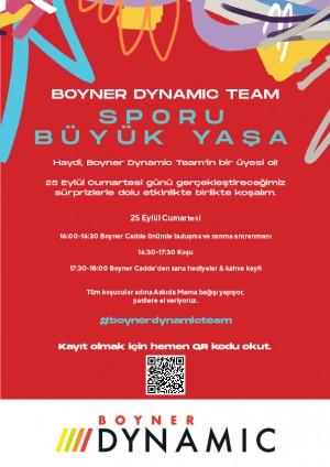 Boyner Dynamic Team Caddebostan'da hafta sonunu bekliyor