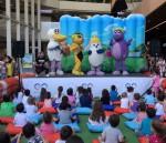 Ege Perla'da gerçekleşen etkinliğine miniklerden yoğun ilgi