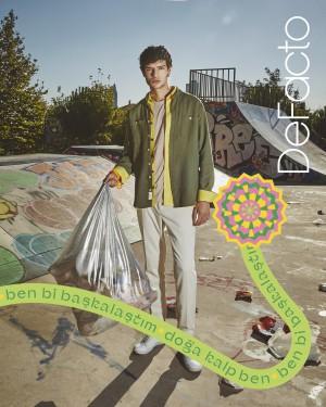 """DeFacto, """"Şehre Dönüş"""" koleksiyonunu ile çevre projelerine önem veriyor"""