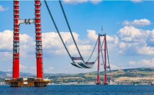 Çanakkale Köprüsü'nün geçiş ücreti 15 euro olacak