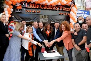 Little caesars istanbul'da 100. şubesini kutluyor