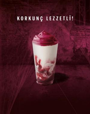 Cadılar Bayramı'na özel lezzet Cherry&Scream Frappuccino