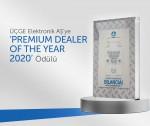 ÜÇGE Elektronik AŞ'ye  'PREMIUM DEALER OF THE YEAR 2020' ödülü
