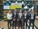 ÜÇGE'nin geri dönüşüm makinesi iECO perakende sektörü ile buluştu