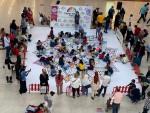 Türkiye'nin en büyük mandala etkinliği Ceylan Karavil Park AVM'de